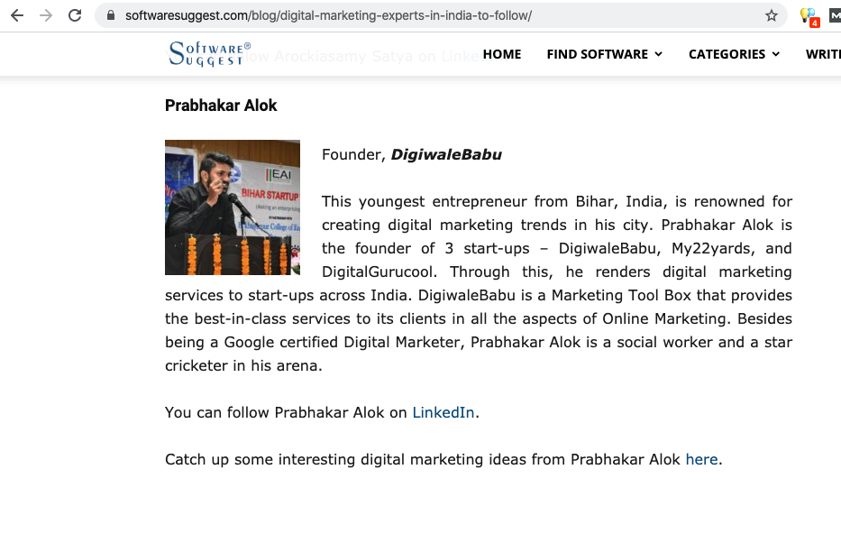 Top Digital Marketer in India