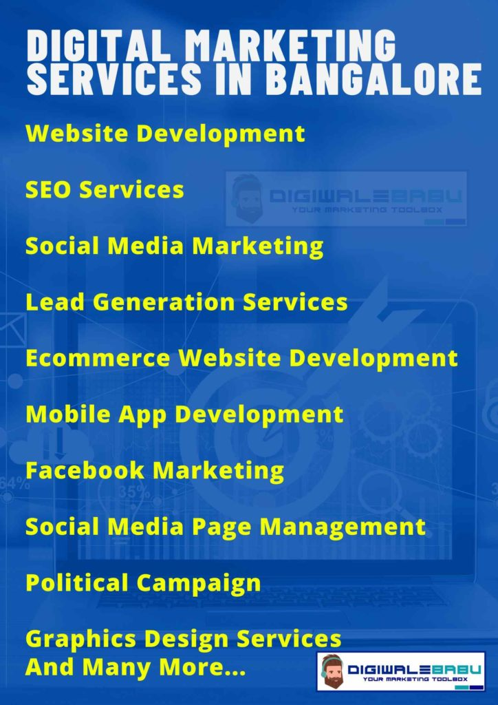 Digital Marketing Services in Bangalore​