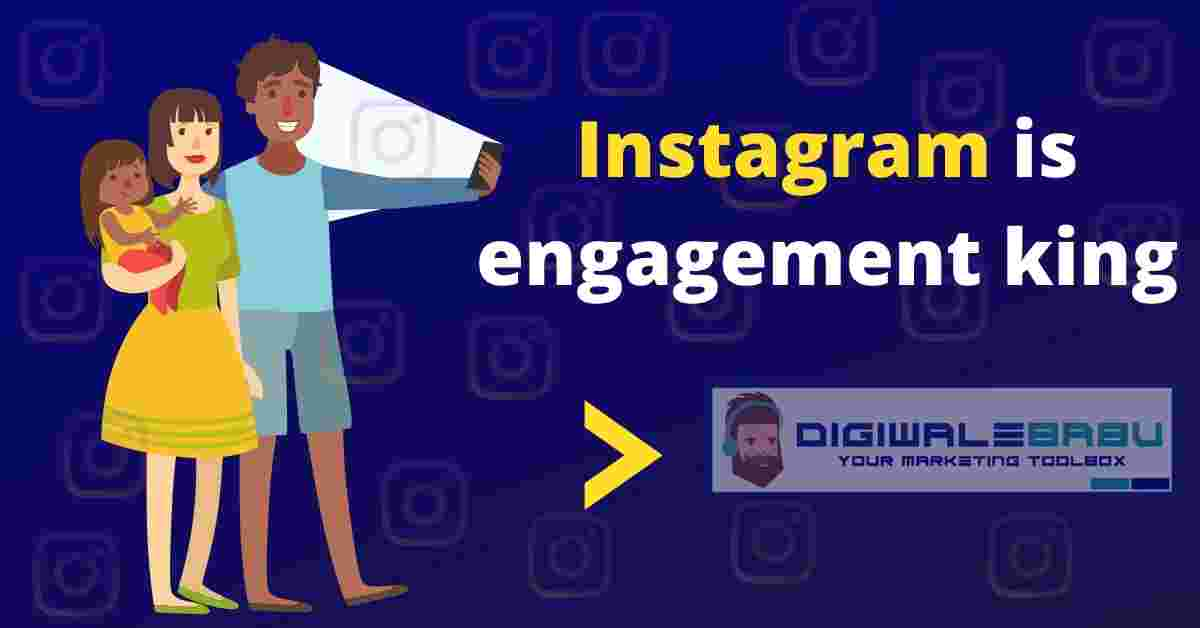 Instagram is engagement king