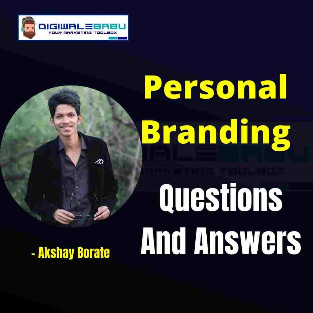 personal branding questionnaire