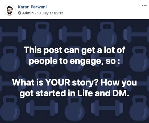 Digital marketer life story