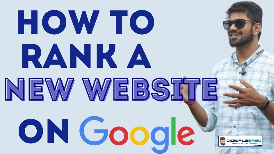 How To Rank A New Website On Google